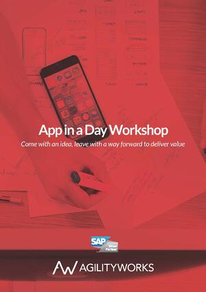 App in a Day Workshop Agilityworks