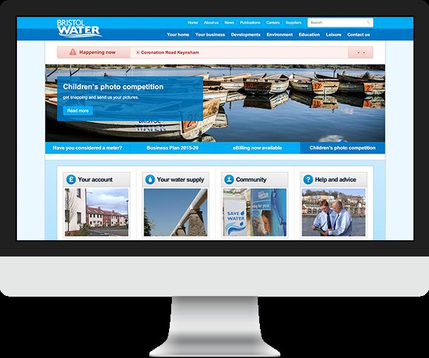 Bristol Water Screen