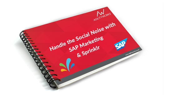 SAP marketing Sprinklr ebook cover