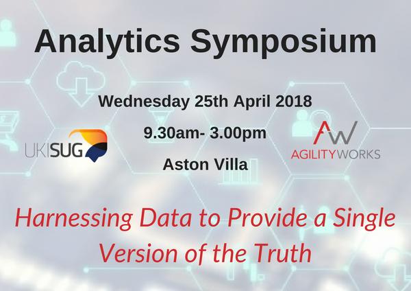 Analytics Symposium 2018