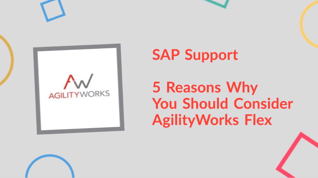 5 Reasons Why you should use AgilityWorks Flex