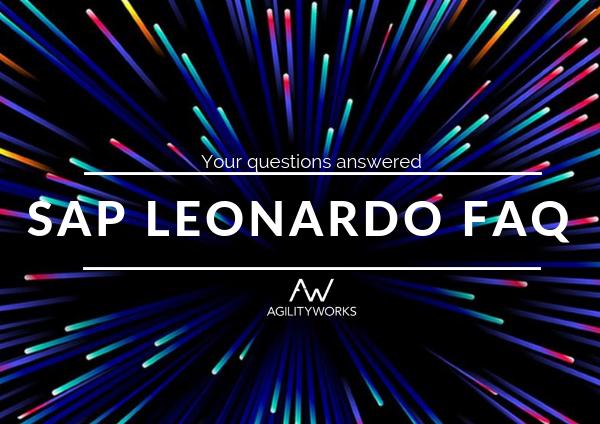 SAP Leonardo FAQ